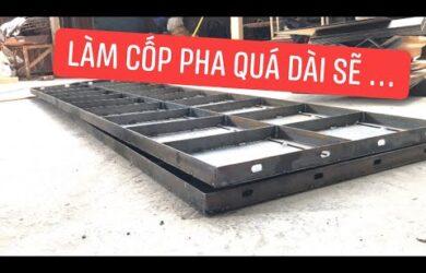 Lý Do Không Nên Làm Tấm Cốp Pha Thép Quá Dài   Cốp Pha Việt