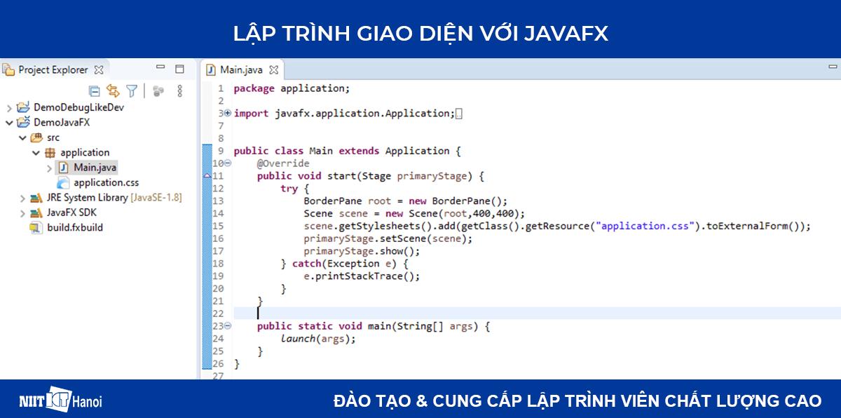 Lập trình giao diện trong Java với JavaFX