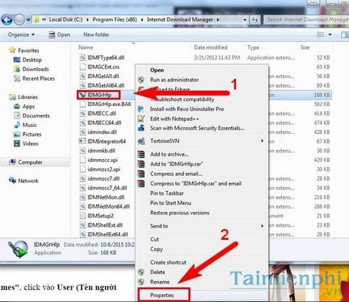 [TaiMienPhi.Vn] Cách sửa lỗi Fake Serial Number của IDM, không download được