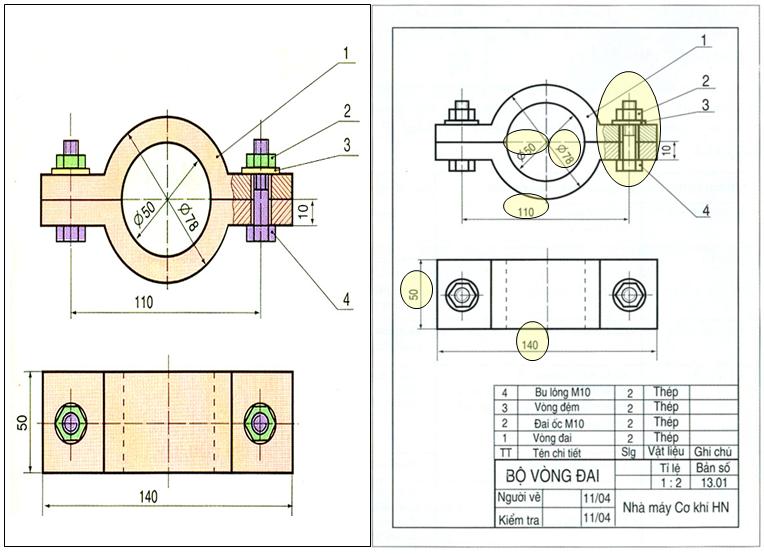 Bài 13: Bản vẽ lắp