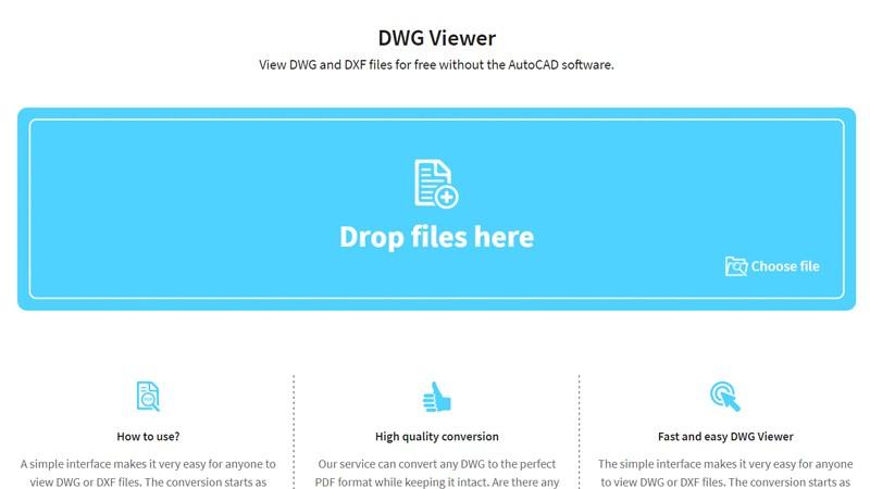 Top 6 trang web mở file DWG, xem ảnh .DWG online không cần phần mềm