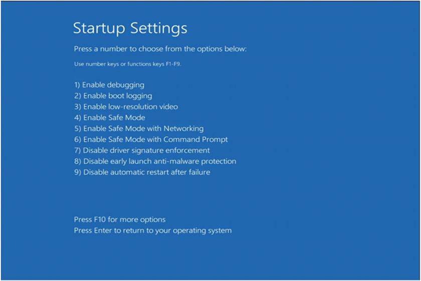 Khắc phục lỗi màn hình xanh trên Windows 8/8.1/10