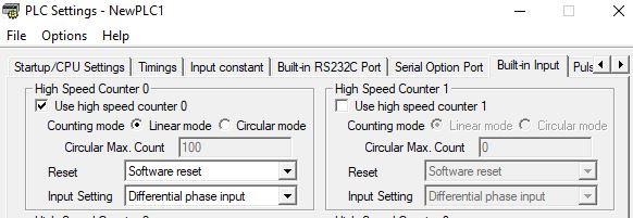 Đọc encoder bằng bộ đếm xung tốc độ cao trên PLC Omron -abientan.com