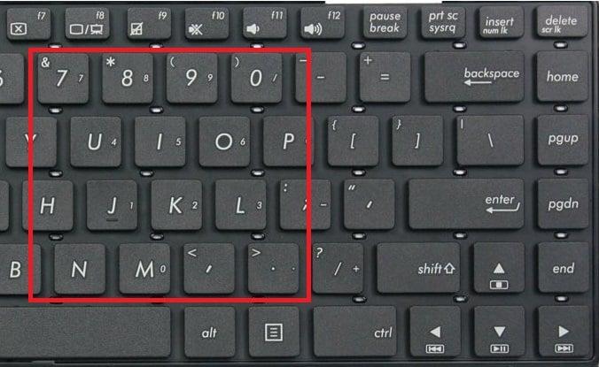 Hướng dẫn sữa lỗi gõ số ra chữ và gõ chữ ra số trên Laptop