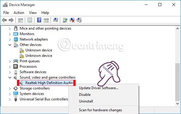 Những cách khắc phục sự cố âm thanh trên Windows 10