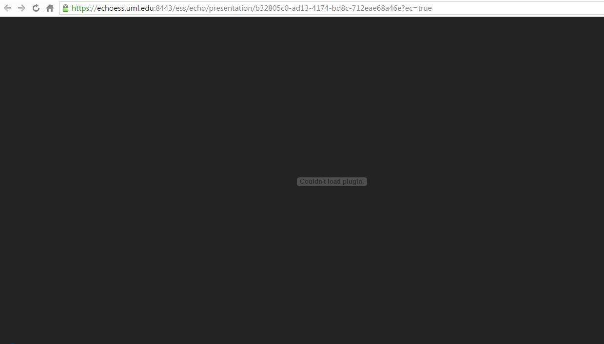 Không thể tải plugin plugin