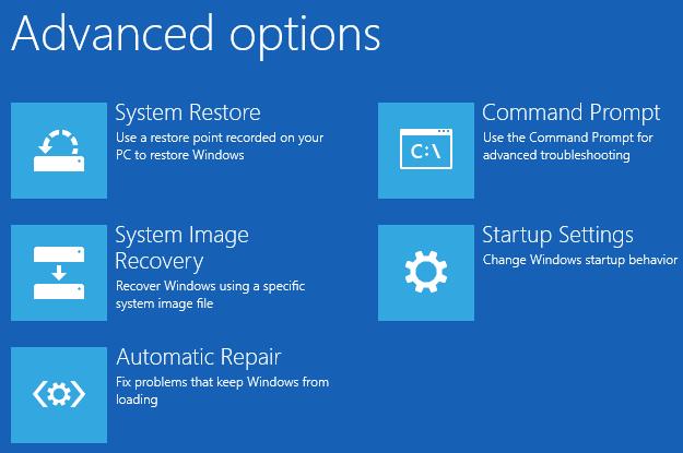 Sửa lỗi BOOTMGR is missing khi khởi động Windows