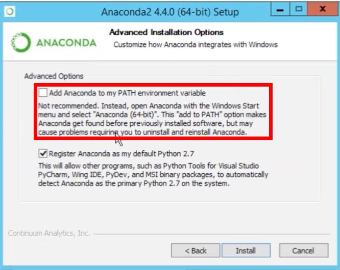 Anaconda python là gì ? Cài đặt anaconda