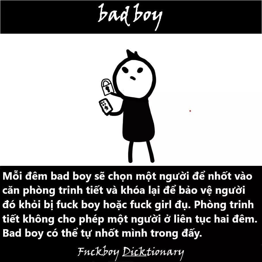 Fuck boy, fuck girl, bad boy, bad girl, sugar daddy, Gokugochu nghĩa là gì?