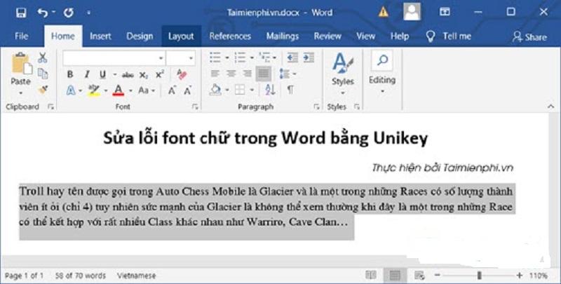 3 cách sửa lỗi font chữ trong Word đơn giản nhất và nhanh nhất | Epetitions.Net