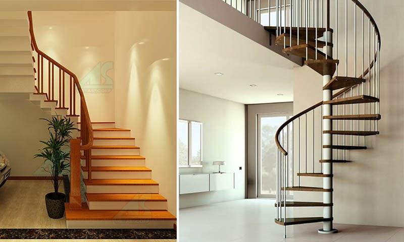 Cách tính cầu thang theo kích thước mét dài chuẩn nhất