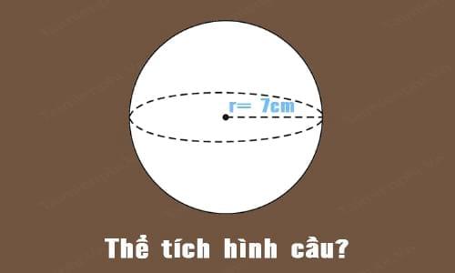 [TaiMienPhi.Vn] Cách tính thể tích hình cầu, diện tích mặt cầu, công thức tính