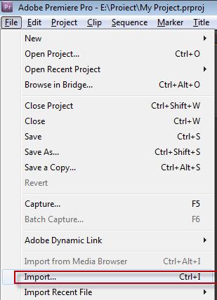 Hướng dẫn dựng phim với phần mềm Adobe Premiere Pro