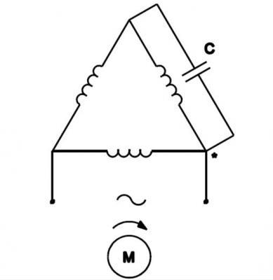 Nguyên Lý Đấu Điện Động Cơ 3 Pha Sang 1 Pha. Cách Đấu Mạch Đảo Chiều Motor 3 Pha