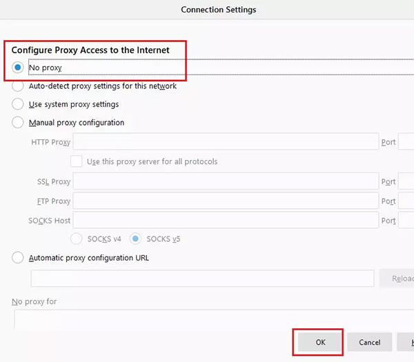 Cách khắc phục lỗi Proxy không vào được mạng trên máy tính
