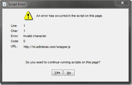 Cách fix và sửa lỗi Script Error trên máy tính thành công 100%