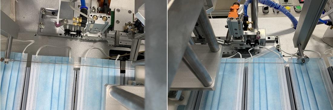 Máy làm khẩu trang y tế - dây chuyền sản xuất khẩu trang tự động