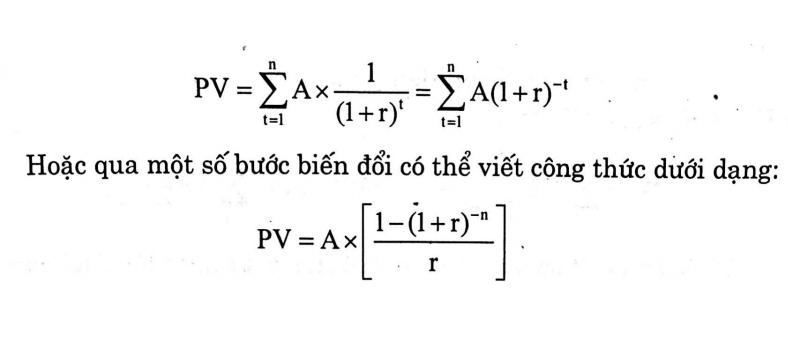 Giá trị hiện tại của tiền (Present Value - PV) là gì? Cách xác định