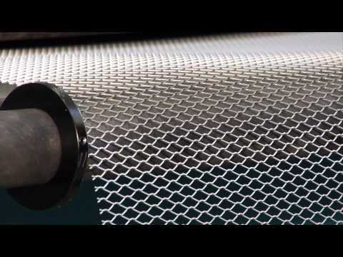 Bender SP-1250 expanded metal production line