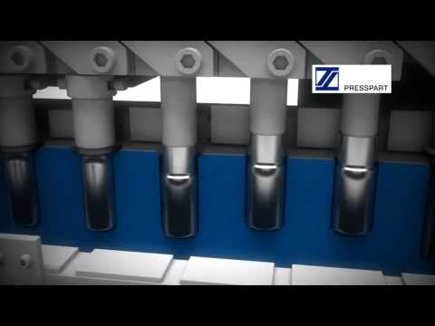 Deep-drawn manufacturing process for MDI cans