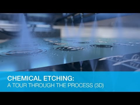 Chemical Etching: A Tour Through The Process (3D Animation)