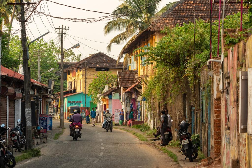 cảnh đường phố Ấn Độ