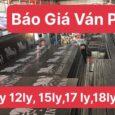 Báo giá ván phủ phim - Cốp Pha Phim ViNaPly - 0967849934