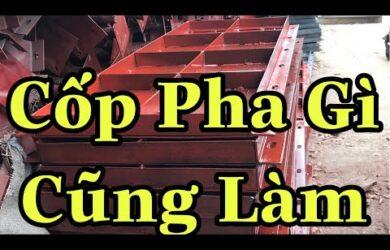Cốp Pha Việt thiết kế cốp pha thép định hình theo yêu cầu