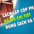 Hướng Dẫn Lắp Ráp Cốp Pha Hố Ga Nhanh, Đúng Cách Sử Dụng Chốt Sâu và Bulong 0967849934