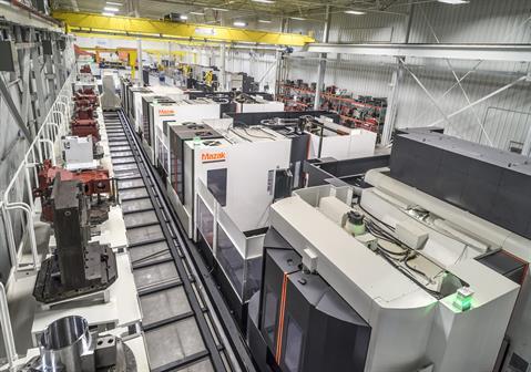 Nhà máy kết nối kỹ thuật số Mazak