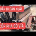 Cốp Pha Việt chuẩn bị sản xuất lô cốp pha bó vỉa mới #shorts