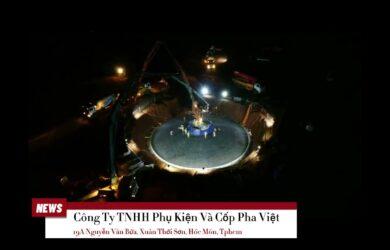 Feedback Thi Công Cốp Pha Móng Điện Gió Bằng Flycam Từ Trên Cao