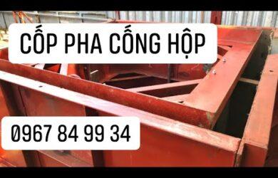 Hướng dẫn lắp ráp cốp pha cống hộp (ván khuôn cống hộp)   Cốp Pha Việt