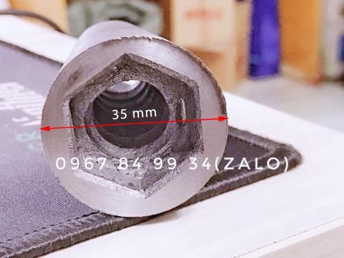 Chiều rộng chân côn 12 là 35mm