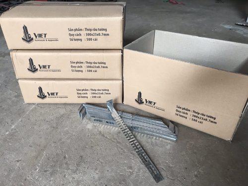 Thép râu xây tường 300x23x0.7mm