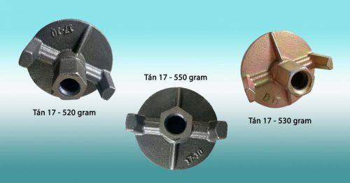 Tán chuồn 17 nặng 520 - 530 - 550 gram